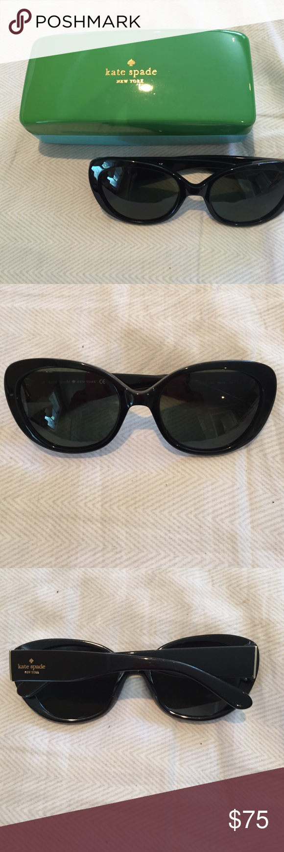 f8d9ae045c Kate Spade sunglasses Black Kate Spade sunglasses like new. kate spade  Accessories Sunglasses