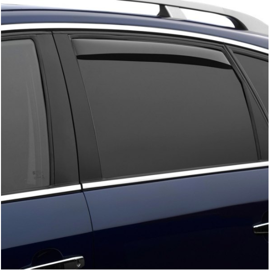 Weathertech Light Smoke Window Deflectors 2000 2006 Mercedes Benz Side Window Dark Smoke Pet Barrier
