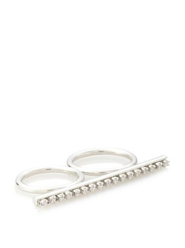 74% OFF Jules Smith Silver Queen Bee Knuckle Lover Ring, 6 /7
