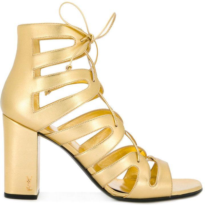 30dd8d87a1a Saint Laurent high heel gladiator sandals | Shoes FOR HER ...