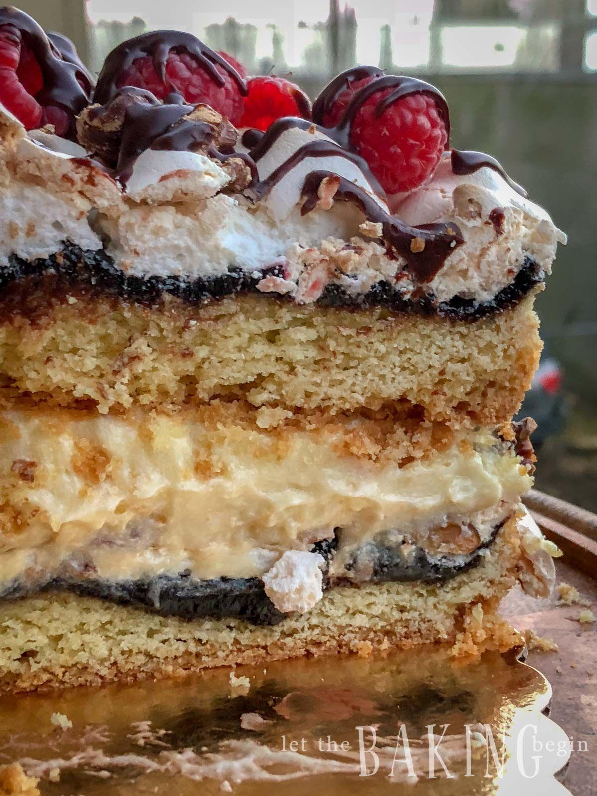Polish Cake Recipe - Pani Walewska - Let the Baking Begin! #napoleonkuchenrussisch Polish Cake Recipe - Pani Walewska - Let the Baking Begin! #napoleonkuchenrussisch