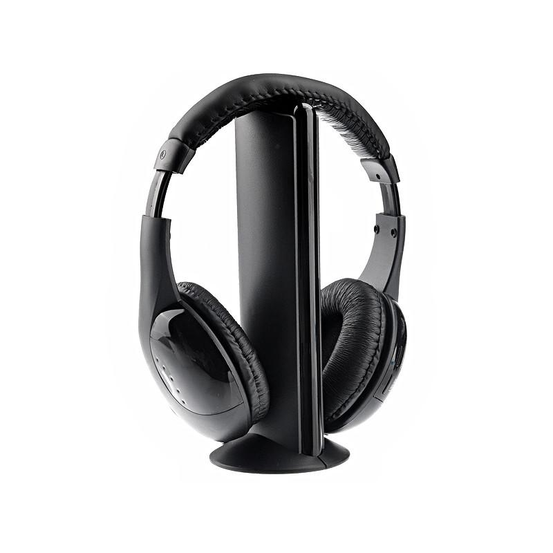 Mh2001 5 In 1 Hi Fi S Xbs Wireless Headphone With Fm Radio