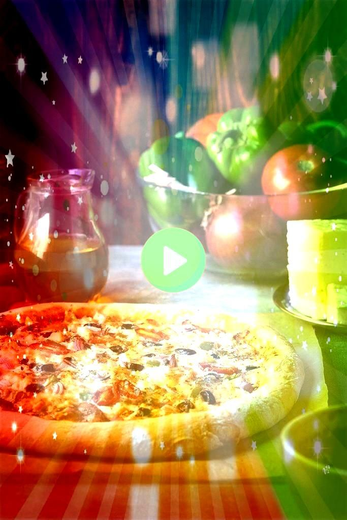 with yogurt and olive oil dough  What to Cook Greek pizza recipe with yogurt and olive oil dough  What to Cook pizza recipe with yogurt and olive oil dough  What to Cook...