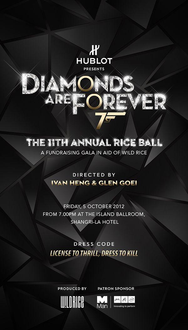 Diamonds Are Forever by Rockstar Atelier , via Behance   diamonds ...