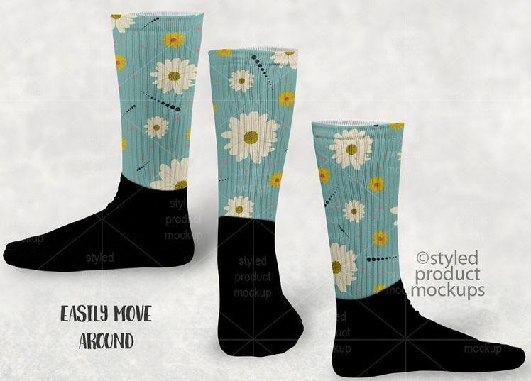 27 Socks Mockup Psd Templates For Cool Showcase Texty Cafe Mockup Template Mockup Mockup Psd