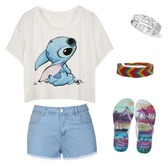 """""""Nice day out"""" by emilylisahurd on Polyvore featuring Havaianas and Ally Fashion"""