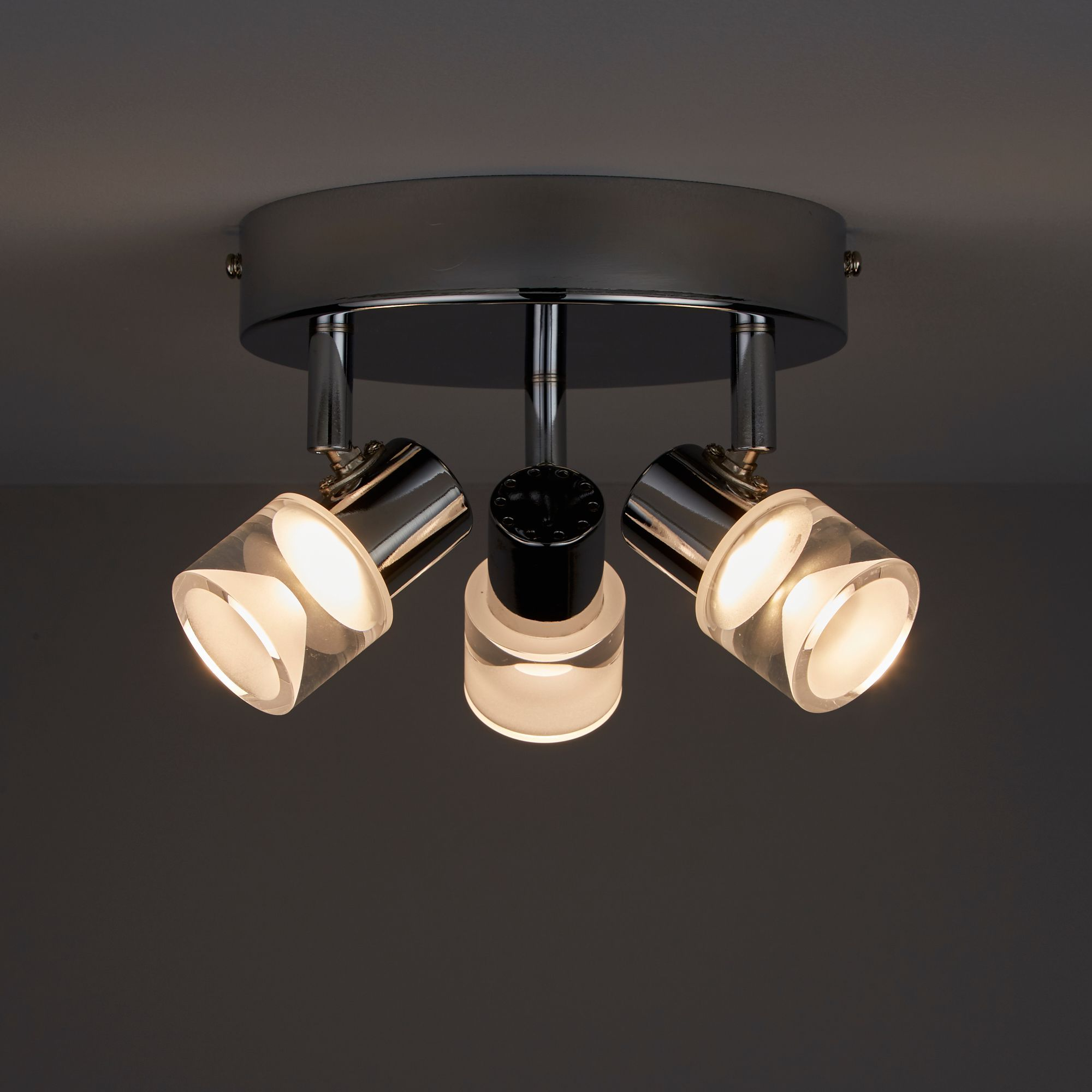 Mageia Chrome Effect 3 Lamp Spotlight
