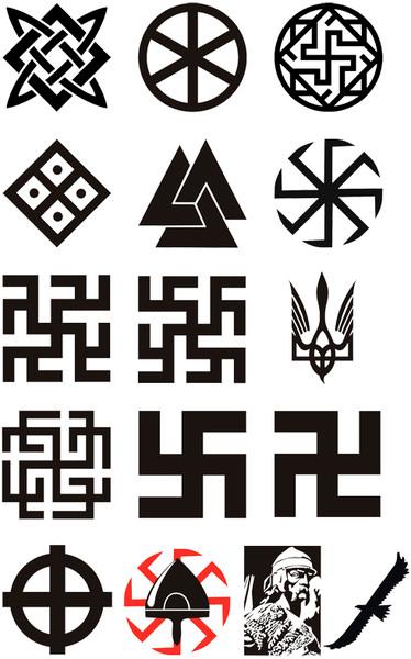 Древние символы в татуировках