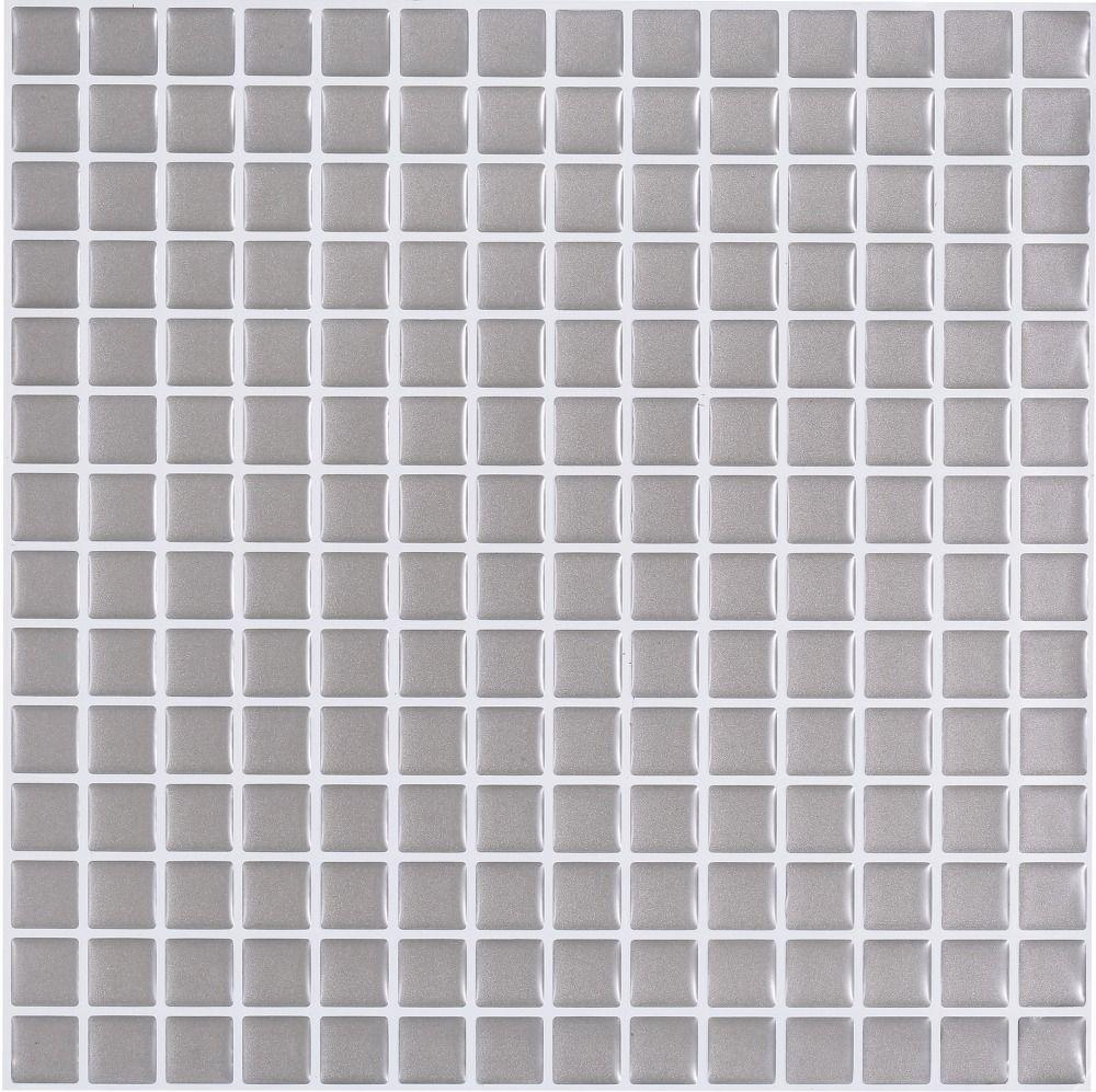 Backsplash Tile Adhesive Lowes Peel And Stick Tile Backsplash Grey