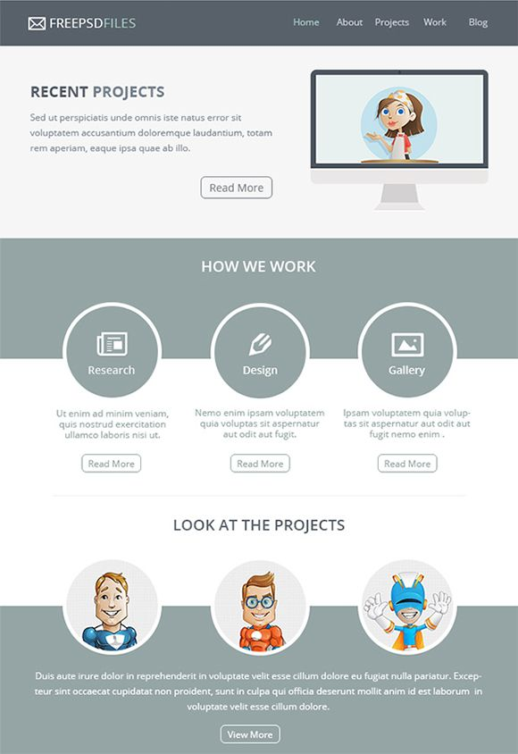 15+ Awesome Free Email Templates to Download Free email - marketing email template