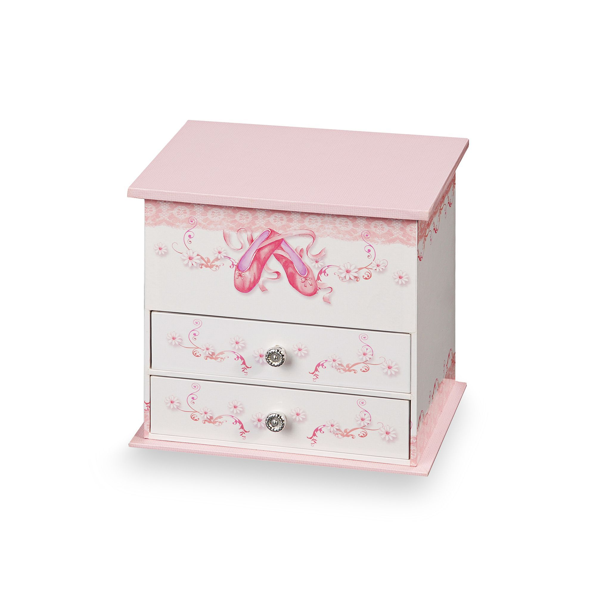 Mele Co Angel Ballerina Musical Jewelry Box Kids Multicolor