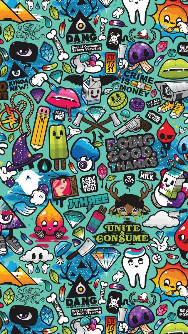 Comics Iphone Wallpapers Graffiti Wallpaper Iphone Wallpaper Graffiti