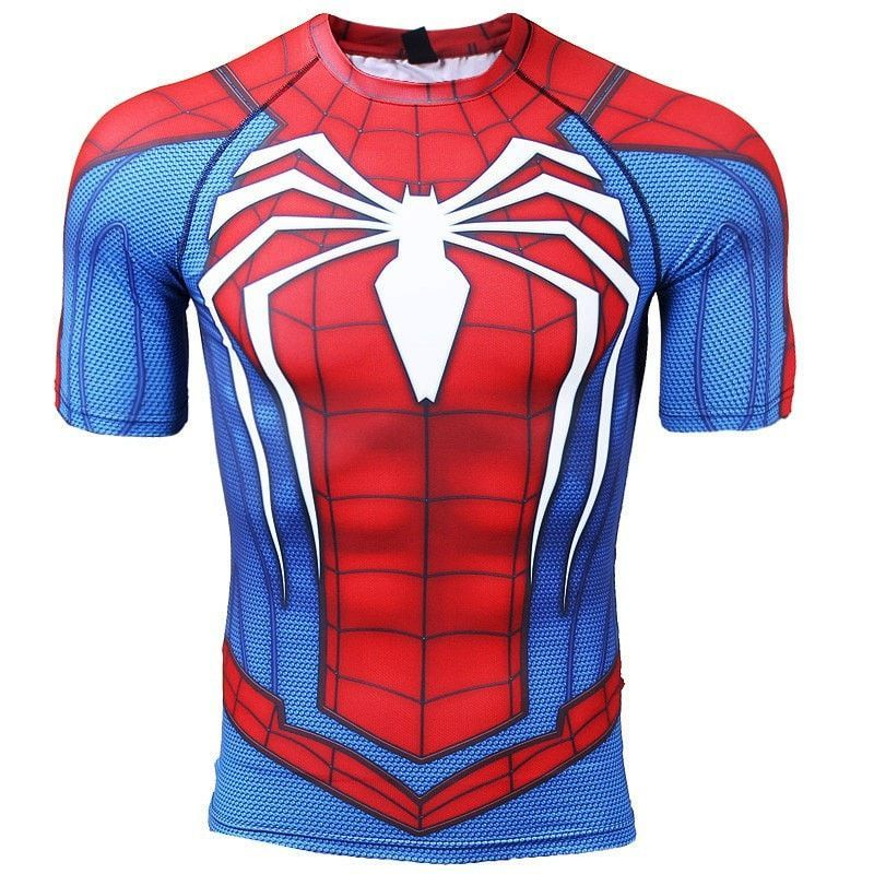 c57910e3 RWB Spider-man Compression Shirt | Products | Bodybuilding clothing ...