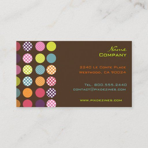 Funky Retro Dots Dots Diy Background Color Business Card Zazzle Com In 2021 Background Diy Colorful Backgrounds Create Business Cards