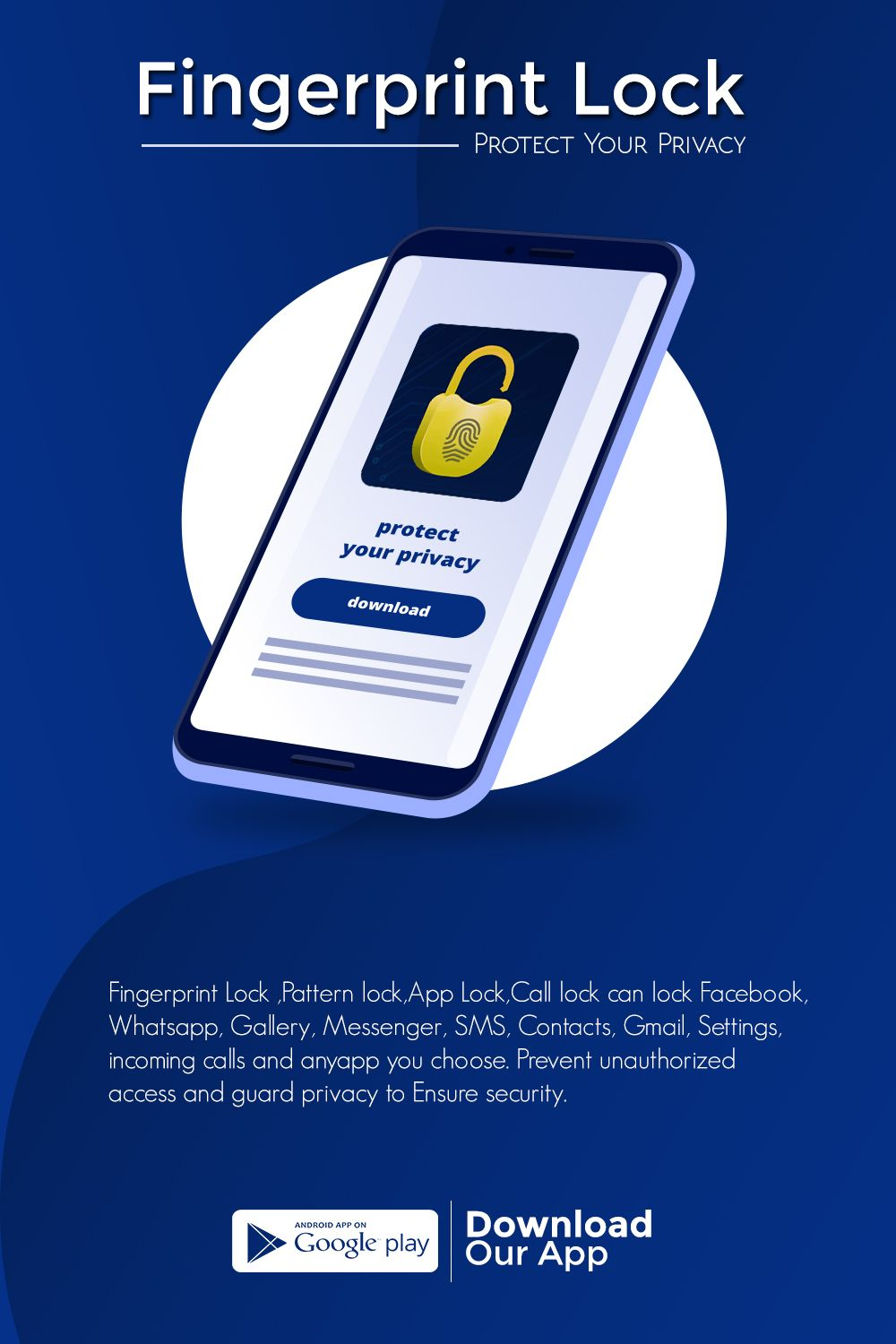 Download Fingerprint Lock Screen Apk For Android Fingerprint