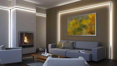 Illuminazione Soggiorno ~ Risultati immagini per illuminazione soggiorno led dom