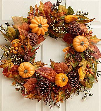Wreath of the Season Club | Find Subscription Boxes #fallwreaths