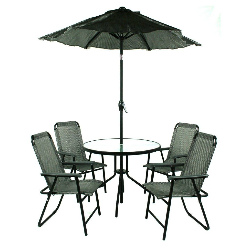 Outdoor Cafe Table With Umbrella