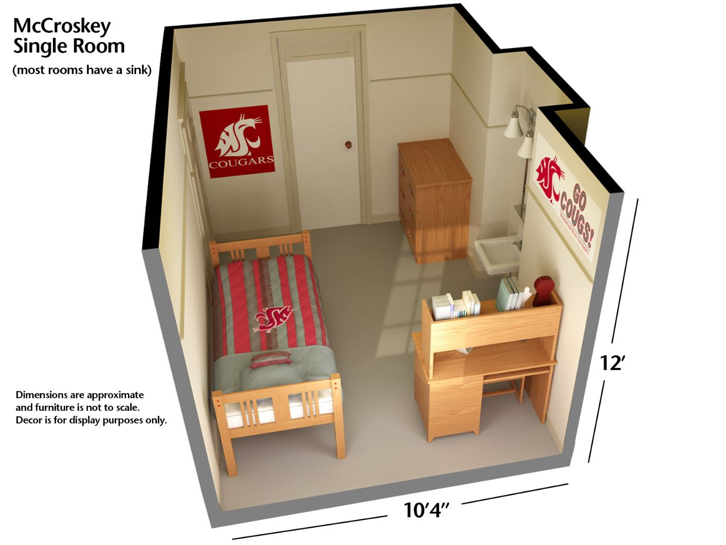 Dorm Layout At WSU Pullman #GoCougs Housing U0026 Residence Life | Washington  State University