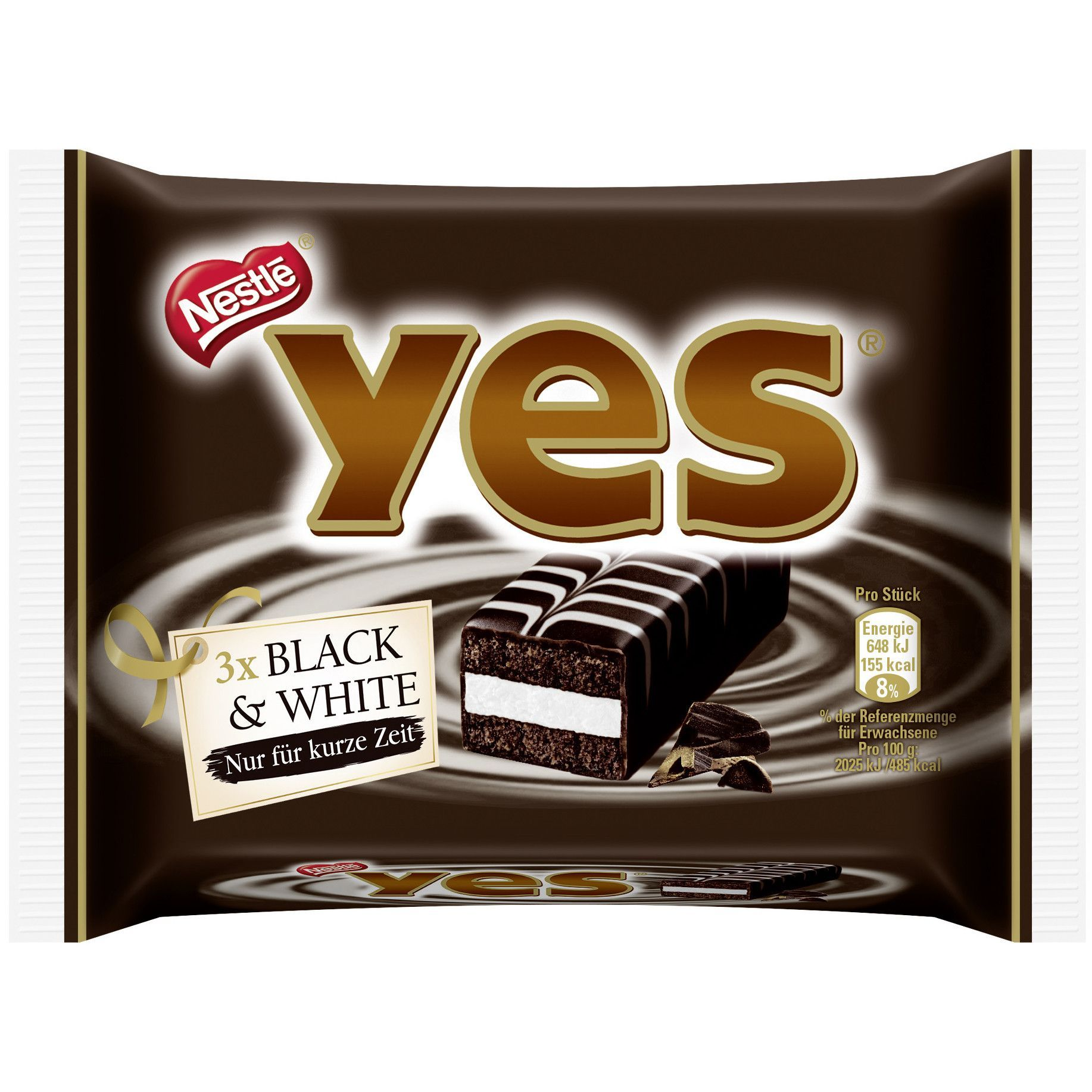 In Usa Nestle Yes Black White Cake Bars Pack Of 3 Limited