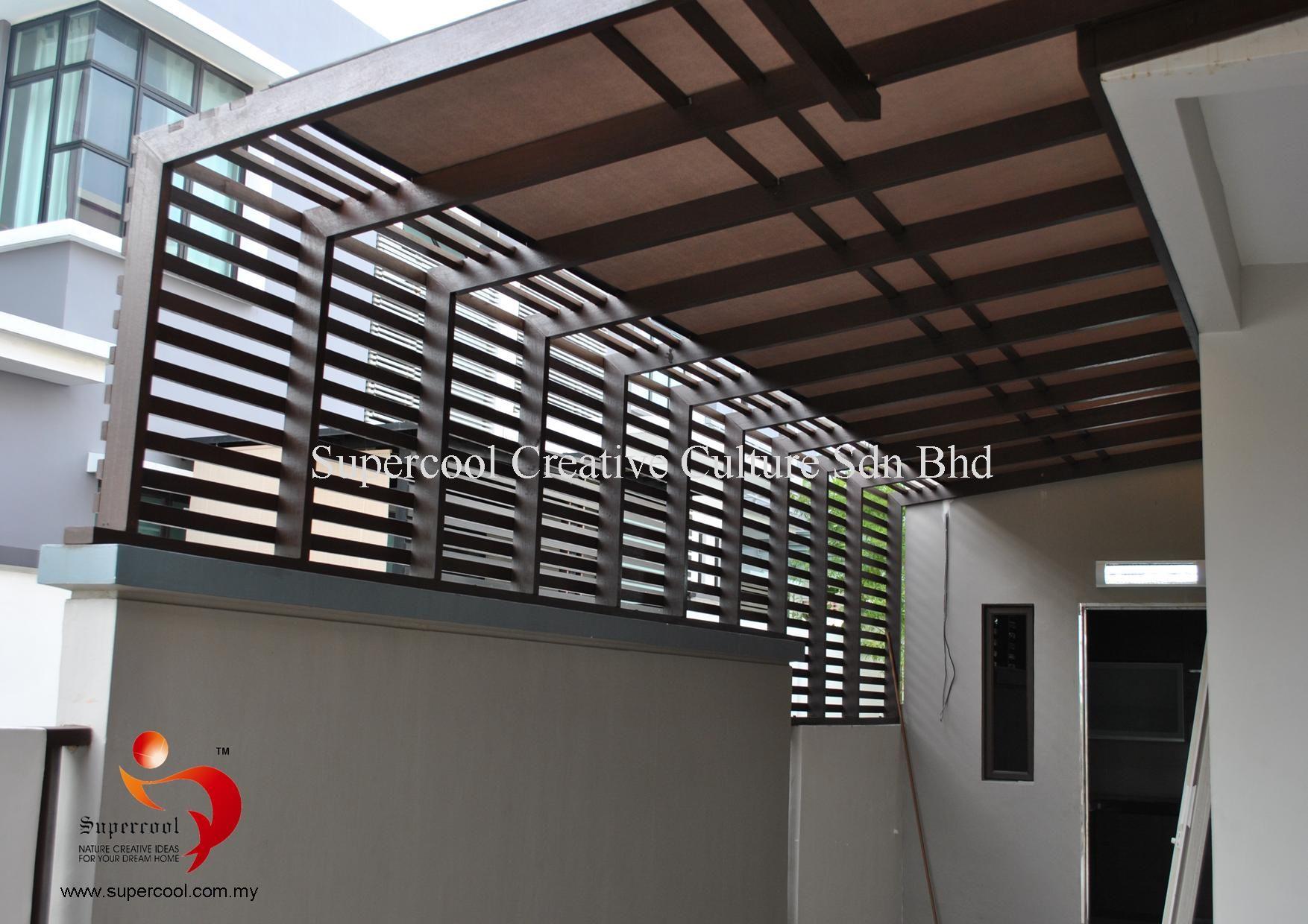 Timber Deck Malaysia | Roof Tiles | Awning | Glass ...