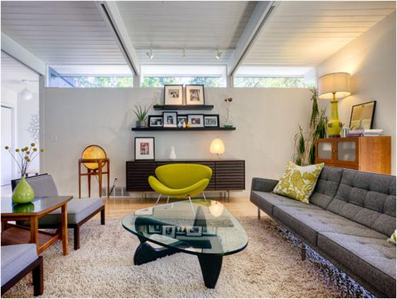 Mid Century Modern Living Room Decor Design Ideas Tips