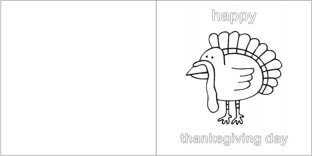 photograph about Printable Thanksgiving Cards named printable thanksgiving playing cards toward colour printable thanksgiving