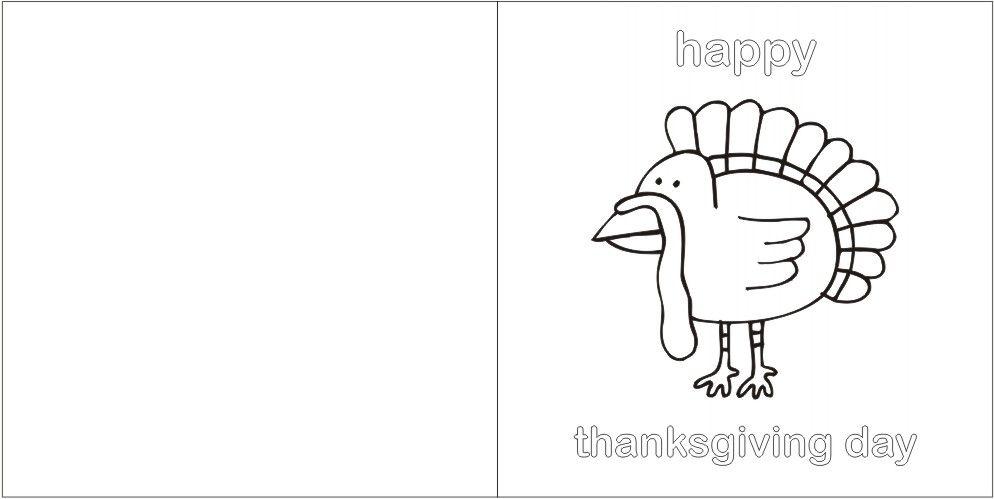 Thanksgiving Greeting Card Pattern Jpg 994 499 Greeting Card Craft Thanksgiving Greeting Cards Thanksgiving Cards Printable