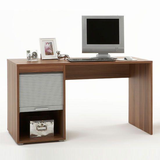 Profi66 Compact Plumtree Computer Desk