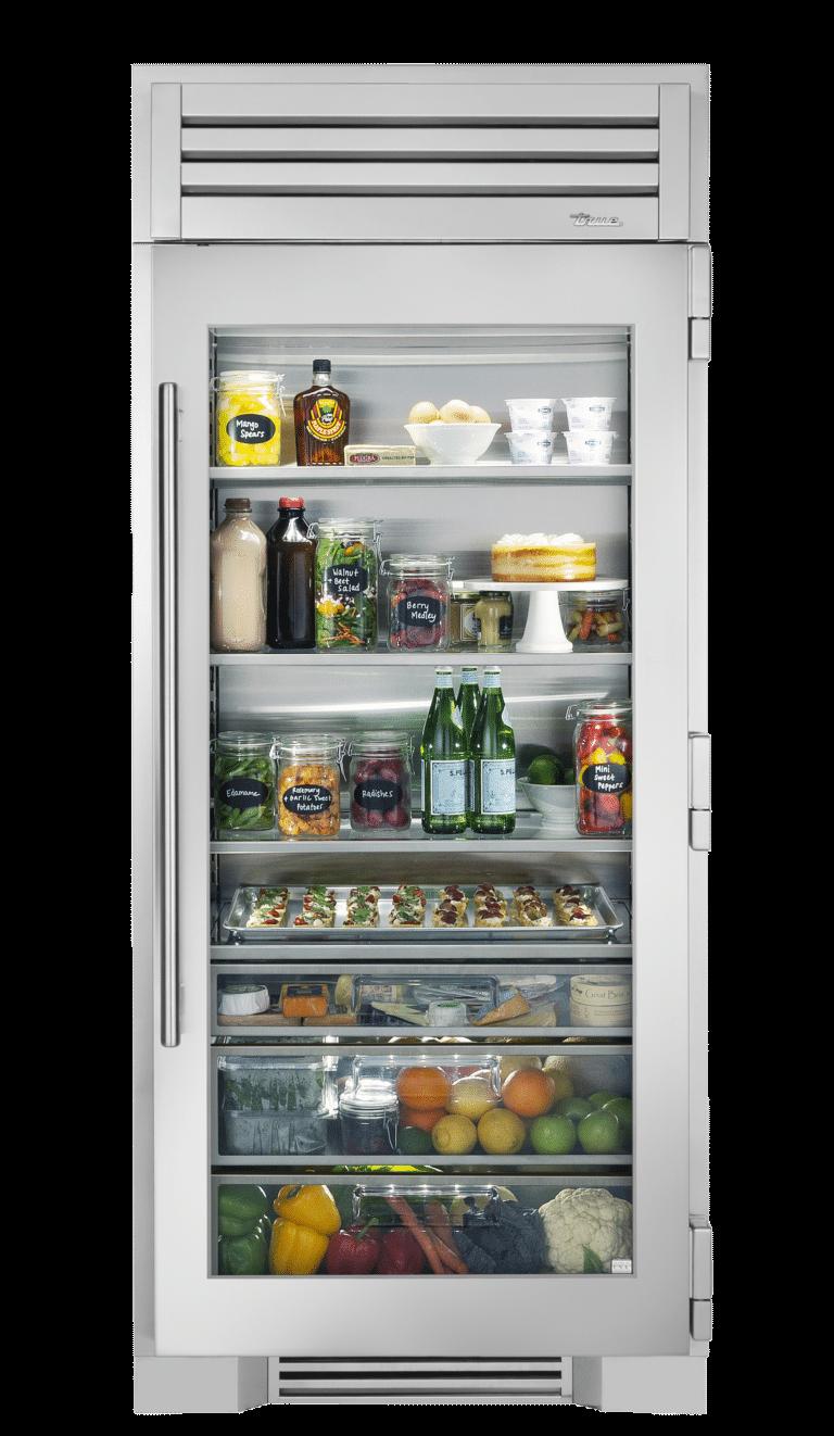36 Glass Door Refrigerator Column True Residential In 2020 Glass Door Refrigerator Glass Door Refrigerator