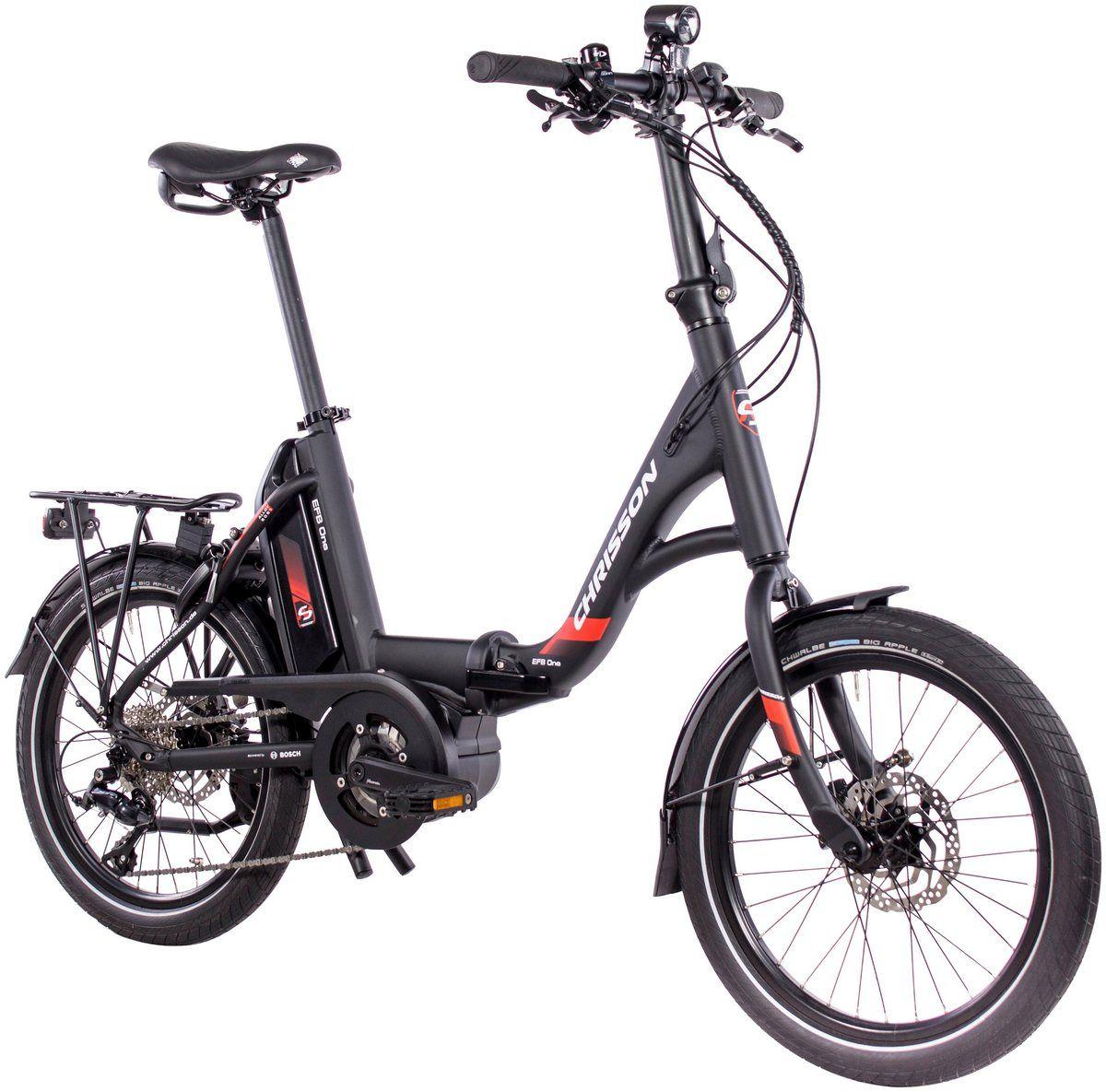 E Bike Klapprad Efb 9 Gang Shimano Sora Schaltwerk Zentralmotor 250 W Klapprad Laufrad Motor
