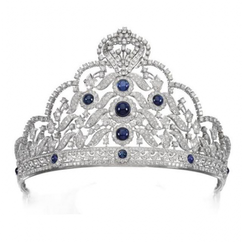 Sapphire Tiara