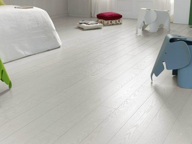 modernes design wohnung laminat fußboden grau weiss hell legnopan ... - Wohnzimmer Grau Laminat