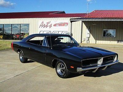 1969 Black Dodge Charger R T Maintenance Restoration Of Old