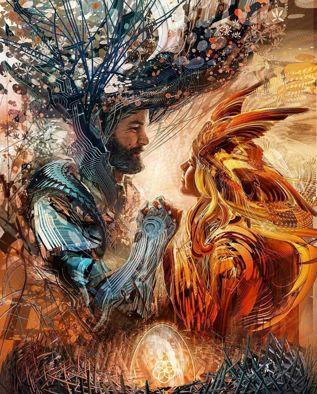 Piece by @android_jones ____ #illustration #drawing #draw #character #characterdesign #fantasy #fantasyart #instaart #instadaily #conceptart #cgart #digitalart #digitalpainting #helloeclosion #inspiration #inspiring #paint #painting #artsy #picoftheday #artoftheday #bestartfeatures #epic #epicfantasy #magic by devilzsmile.com #devilzsmile