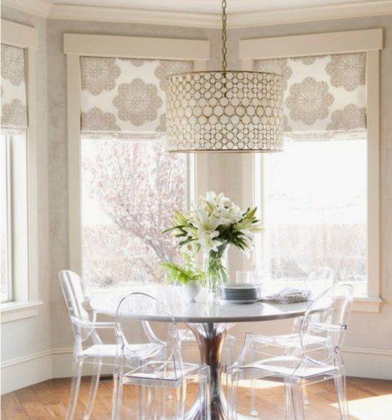 25 Modern Roman Shades For Beautiful Room Decorating: Roman Shades Roman Shade Custom Roman Shades Designer