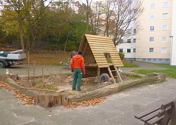 Neuer Spielplatz im Innenhof (mit Bildern) Immobilien