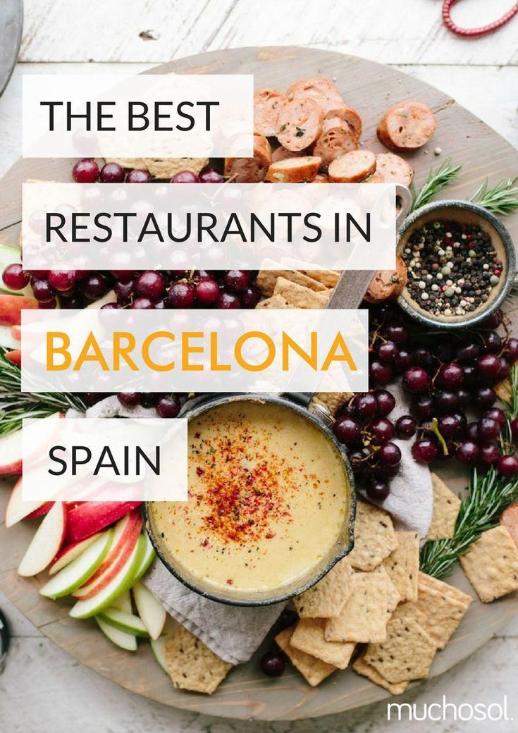 Have you planned a trip to #Barcelona? And do you want to know more about the gastronomy? ������������ Look at this article, and find the top restaurants in Barcelona #Spain #Restaurants #Travel #Citytrip #Food #Holiday #ThingsToSeeAndDoInBarcelona
