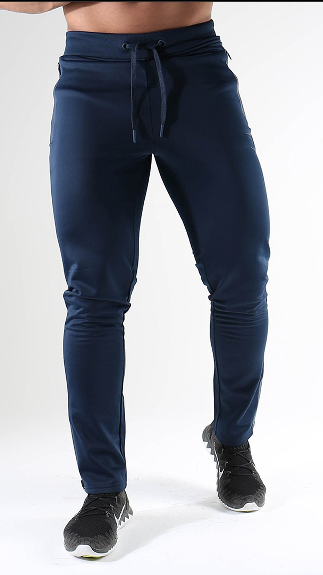The Gymshark Terrain Track Bottoms in Sapphire Blue 56008527ec4