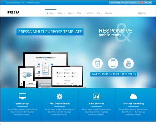 25+ Best Premium HTML Technology Website Templates - http ...