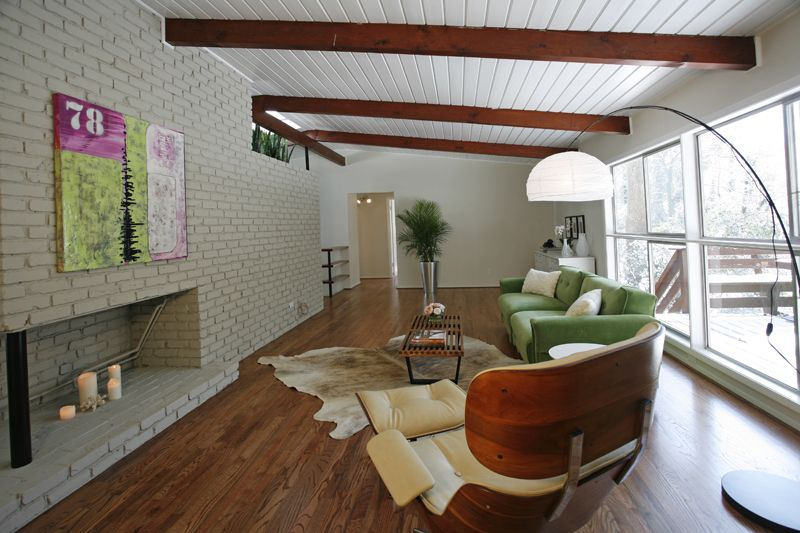 Before After A Dramatic Mid Century Modern Renovation In Atlanta