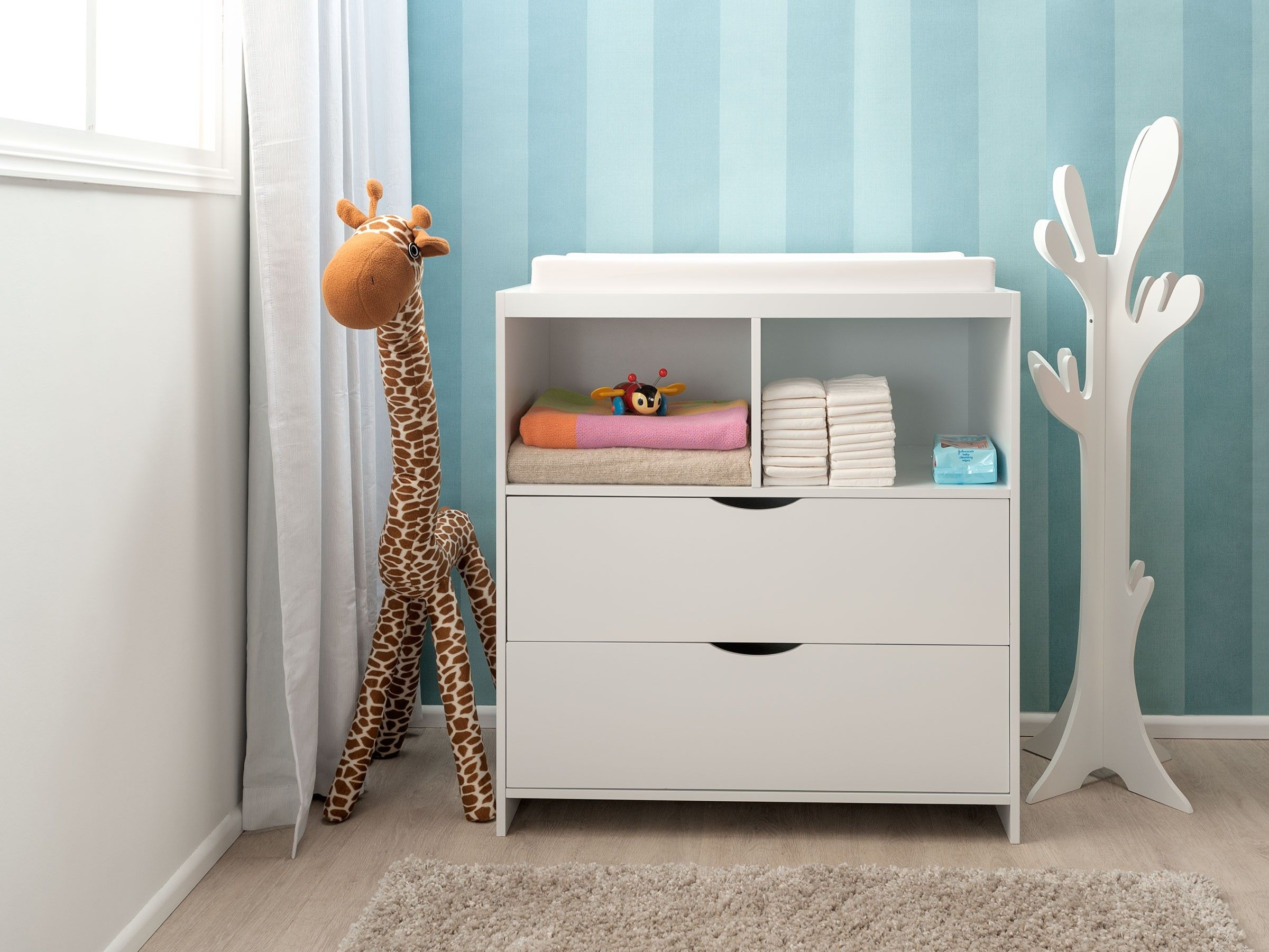 The Mocka Brooklyn Change Table And Drawer Set Is The Perfect Height For  Changing Your Baby, While Easily Transitioning Into Future Rooms For  Storage When ...