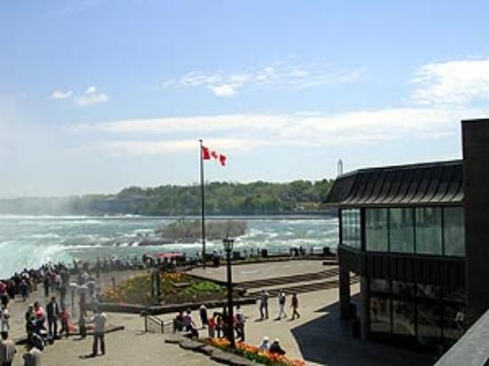 Elements On The Falls Restaurant In Niagara Ontario Right At Edge Of
