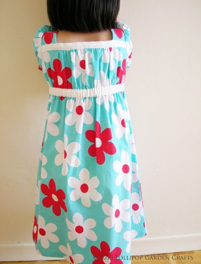 Lollipop Garden Crafts: Smock Dress