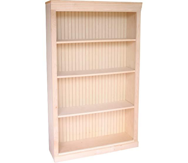 36 X 60 Maple Bookcase This Maple Bookcase Features 3 Adjustable Shelves Our Bookcases Come In Many Sty With Images Adjustable Shelving Contemporary Bookcase Bookcase