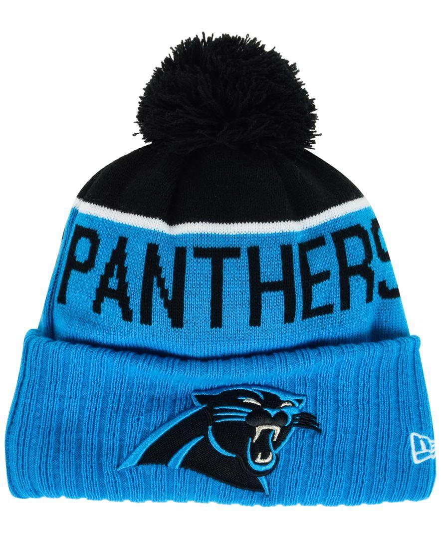 New Era Carolina Panthers Sport Knit Hat  ef09662678b