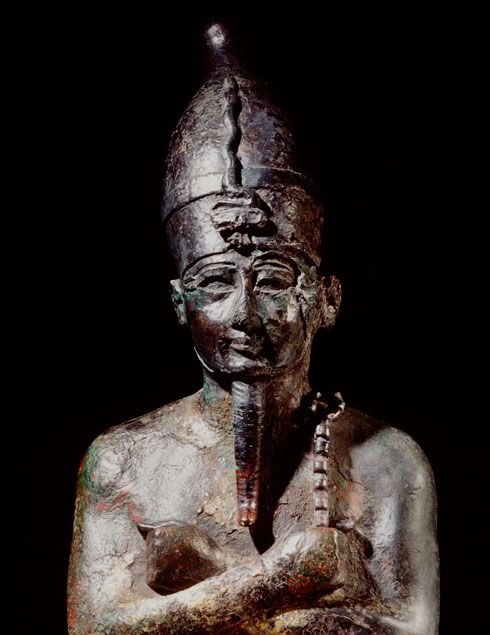 Statue of Osiris. Image © Rijksmuseum van Oudheden (Leiden, the Netherlands).