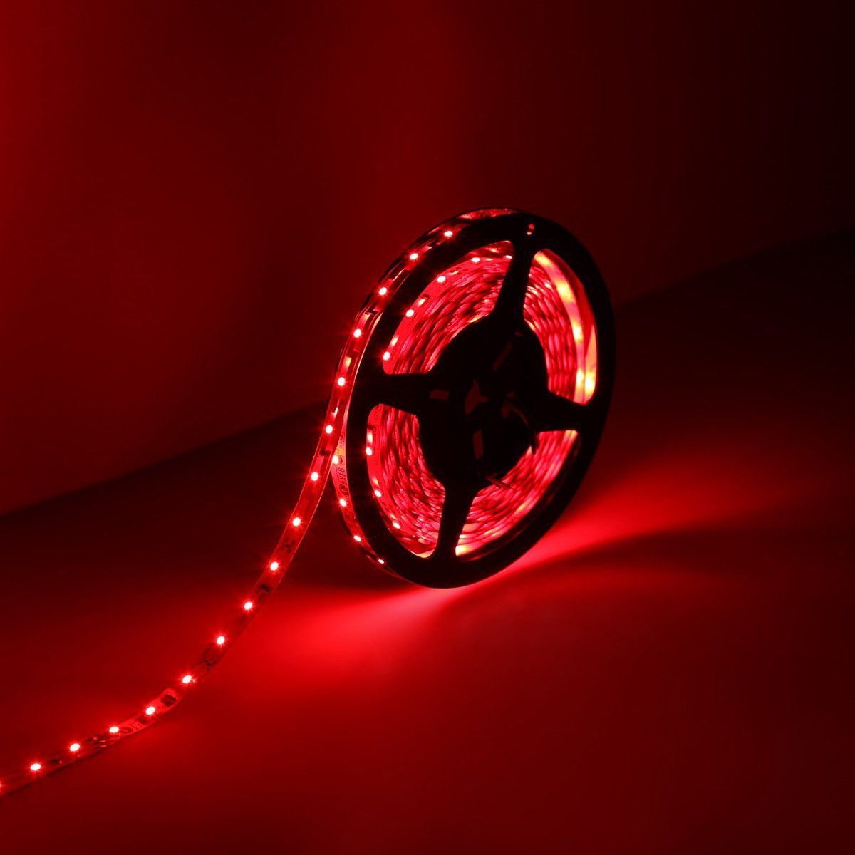Le 164ft 12v flexible led strip lights red 82 lumens 15 watts le 164ft 12v flexible led strip lights red 82 lumens 15 watts aloadofball Gallery
