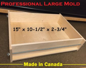 Professional 30 Lb To 40 Lb Large Soap Mold 20 X Wooden Soap Molds Soap Molds Soap