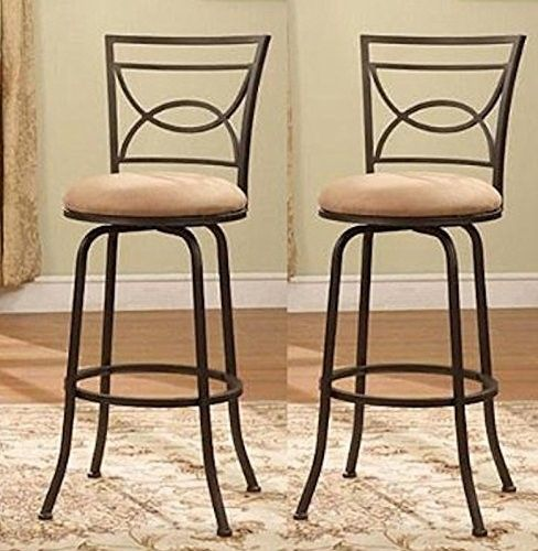 Surprising Legacy Decor Adjustable Swivel Counter Height Bar Stools 24 Pdpeps Interior Chair Design Pdpepsorg
